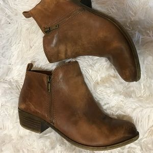 Lucky Brand Basel Booties size 8 GUC